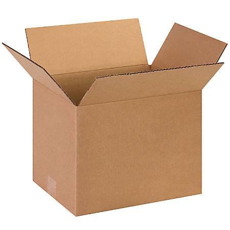 "Office Depot® Brand Corrugated Cartons, 13"" x 10"" x 10"", Kraft, Pack Of 25"