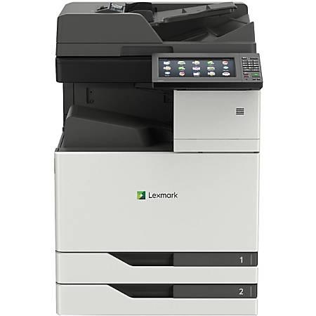 Lexmark CX920 CX921de Laser Multifunction Printer - Color - Copier/Fax/Printer/Scanner - 35 ppm Mono/35 ppm Color Print - 1200 x 1200 dpi Print - Automatic Duplex Print - 1200 dpi Optical Scan - 1150 sheets Input - Gigabit Ethernet