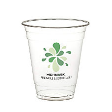 Highmark Compostable Cold Drink Cups 12