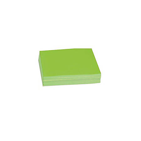 "Pacon® Bond Paper, Letter Size (8 1/2"" x 11""), 24 Lb, Neon Green, Pack Of 100 Sheets"