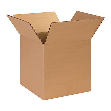 "Office Depot® Brand Heavy-Duty Corrugated Cartons, 14"" x 14"" x 14"", Kraft, Pack Of 25"