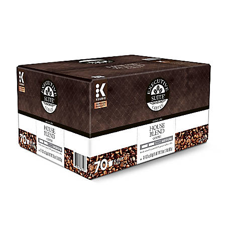 Executive Suite House Blend Coffee Keurig® K-Cup® Pods, Box of 70 Pods