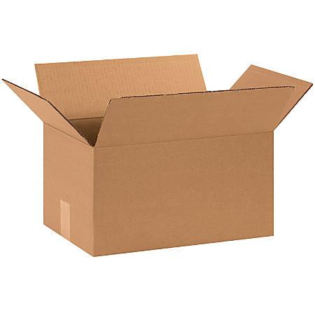 "Office Depot® Brand Corrugated Cartons, 15"" x 10"" x 8"", Kraft, Pack Of 25"
