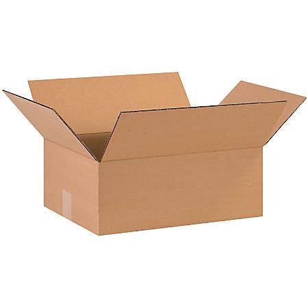 "Office Depot® Brand Corrugated Cartons, 16"" x 12"" x 6"", Kraft, Pack Of 25"