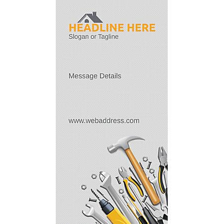 Custom Vertical Banner, Repair Tools