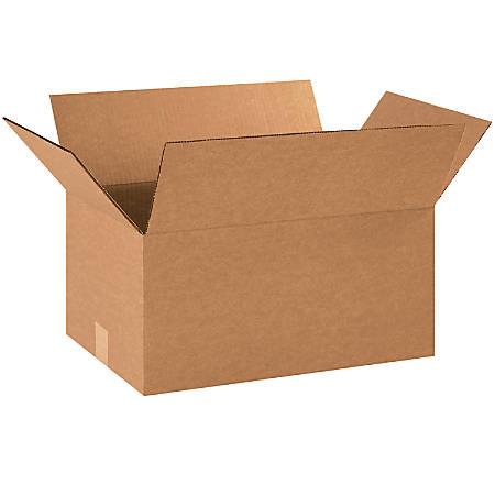 "Office Depot® Brand Corrugated Cartons, 18"" x 12"" x 9"", Kraft, Pack Of 25"