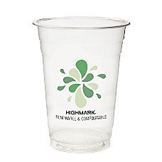 Highmark Compostable Cold Drink Cups 16