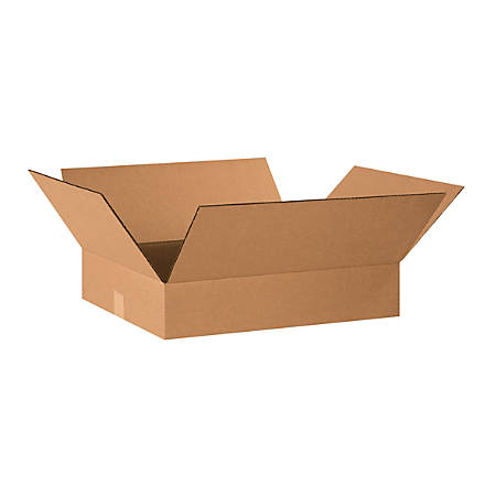 "Office Depot® Brand Corrugated Cartons, 20"" x 16"" x 4"", Kraft, Pack Of 25"