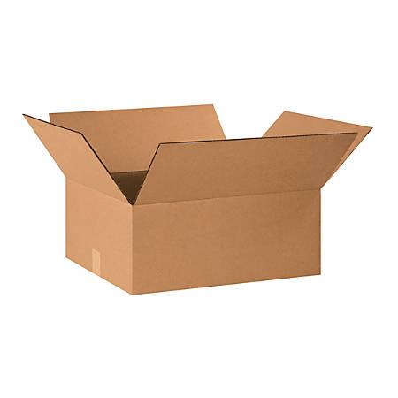 "Office Depot® Brand Corrugated Cartons, 20"" x 16"" x 8"", Kraft, Pack Of 25"