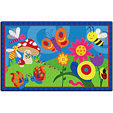 Flagship Carpets Cutie Bugs Rug Rectangle