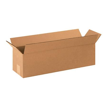 "Office Depot® Brand Corrugated Cartons, 22"" x 6"" x 6"", Kraft, Pack Of 25"