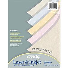 Pacon Inkjet Laser Print Parchment Paper