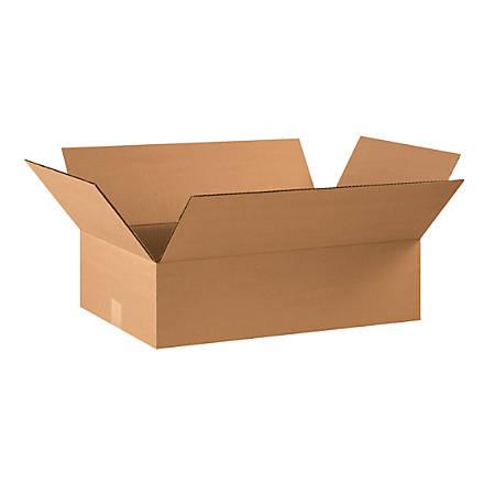 "Office Depot® Brand Corrugated Cartons, 22"" x 14"" x 6"", Kraft, Pack Of 20"