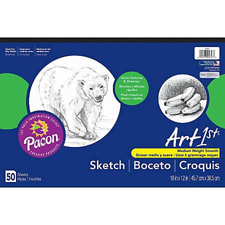 "Pacon® Art1st® Sketch Pad, 12"" x 18"", 50 Sheets"