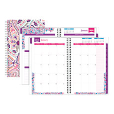 Office Depot Brand Boho Floral WeeklyMonthly