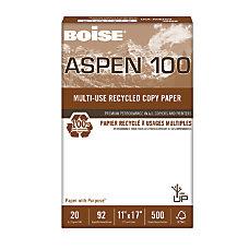 Boise ASPEN Multipurpose Paper 100 Ledger