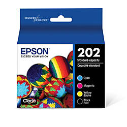 Epson T202120 BCS Multicolor Ink Cartridges