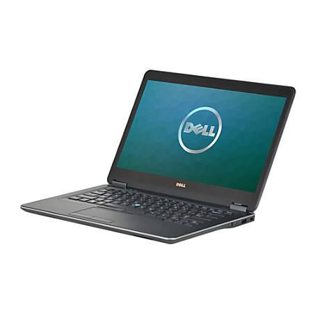 """Dell™ Latitude E7440 Refurbished Laptop, 14"""" Screen, 4th Gen Intel® Core™ i7, 8GB Memory, 512GB Solid State Drive, Windows® 10 Professional"""