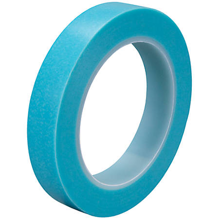 "3M™ 4737T Masking Tape, 3"" Core, 0.75"" x 108', Blue, Case Of 3"