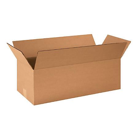 "Office Depot® Brand Corrugated Cartons, 24"" x 10"" x 8"", Kraft, Pack Of 25"