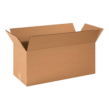 "Office Depot® Brand Corrugated Cartons, 24"" x 10"" x 10"", Kraft, Pack Of 25"