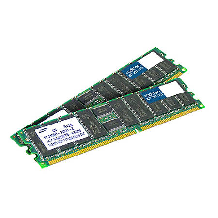 AddOn AM667D2DFB5/4G x2 JEDEC Standard Factory Original 8GB DDR2-667MHz Fully Buffered ECC Dual Rank 1.8V 240-pin CL5 FBDIMM