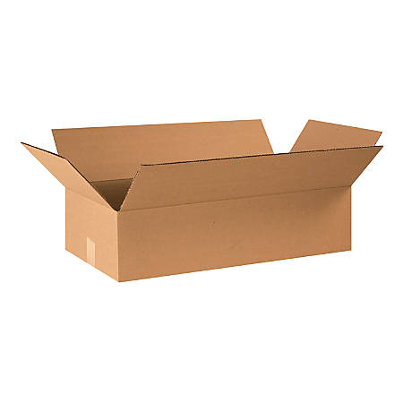 "Office Depot® Brand Corrugated Cartons, 24"" x 12"" x 6"", Kraft, Pack Of 20"