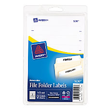Avery Removable File Folder Labels 5230