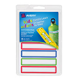 Avery Permanent Waterproof Labels For Kids