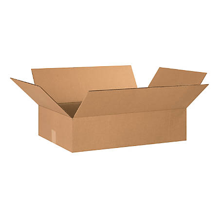 "Office Depot® Brand Corrugated Cartons, 24"" x 16"" x 6"", Kraft, Pack Of 20"
