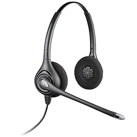 Plantronics® SupraPlus® HW261N Binaural Wideband Headset