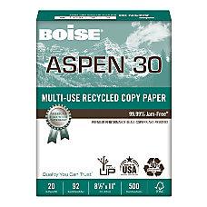 Boise ASPEN 30 Multipurpose Paper Letter
