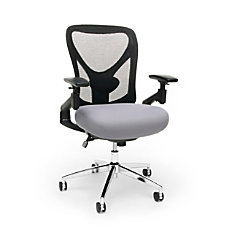 OFM Stratus High Back Chair GrayBlackChrome