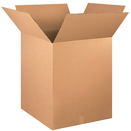 """Office Depot® Brand Tall Boxes, 24"""" x 24"""" x 30"""", Kraft, Pack Of 10"""