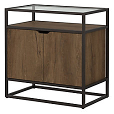 Bush Furniture Anthropology Small Storage Cabinet