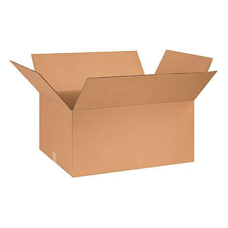 "Office Depot® Brand Corrugated Cartons, 26"" x 18"" x 12"", Kraft, Pack Of 15"