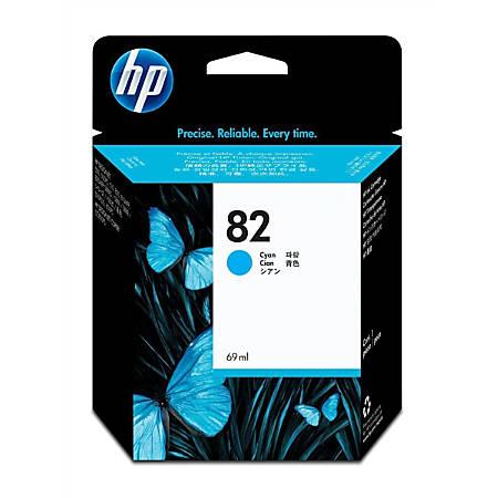 HP 82, Cyan Ink Cartridge (C4911A)