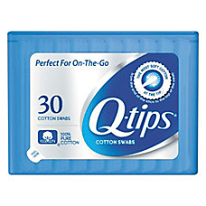 Q tips Cotton Swabs 1 White
