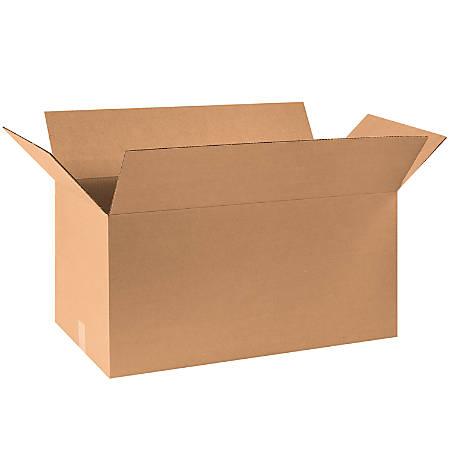 "Office Depot® Brand Corrugated Cartons, 30"" x 15"" x 15"", Kraft, Pack Of 15"