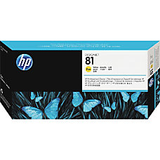 HP 81 C4953A Yellow Dye Printhead