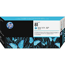 HP 81 C4954A Light Cyan Printhead