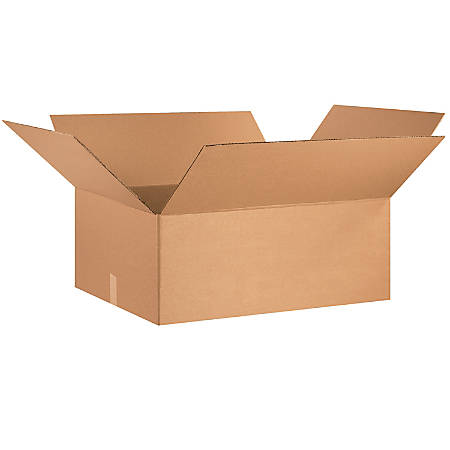 "Office Depot® Brand Corrugated Cartons, 30"" x 24"" x 12"", Kraft, Pack Of 15"