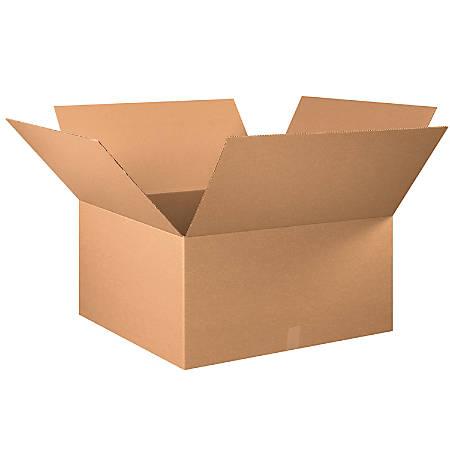 "Office Depot® Brand Corrugated Cartons, 30"" x 30"" x 16"", Kraft, Pack Of 10"