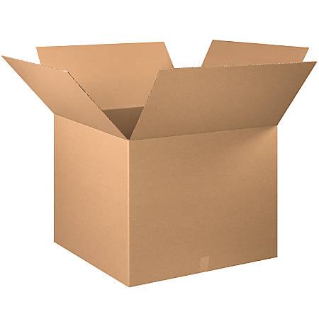 "Office Depot® Brand Corrugated Cartons, 30"" x 30"" x 25"", Kraft, Pack Of 5"