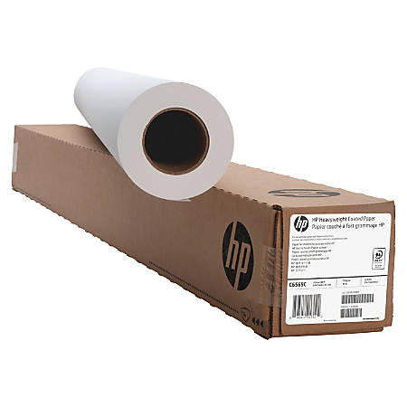 """HP Heavyweight Coated Paper Roll, 42"""" x 100'"""