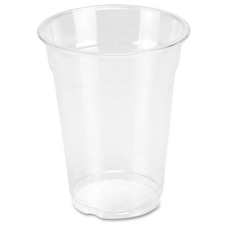 Genuine Joe Clear Plastic Cups - 10 fl oz - 25 / Pack - Clear - Plastic - Cold Drink