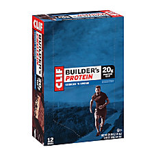 Clif Bar Builders Protein Bars Cookies