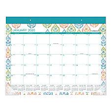 Cambridge Anna Monthly Desk Pad Calendar