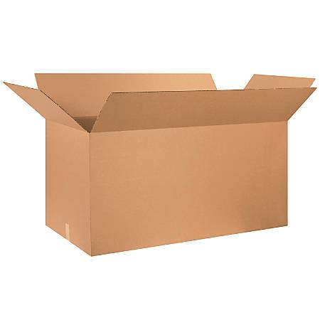 "Office Depot® Brand Corrugated Cartons, 48"" x 24"" x 24"", Kraft, Pack Of 10"