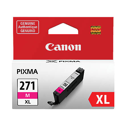Canon CLI-271XL High-Yield Magenta Ink Tank (0338C001)